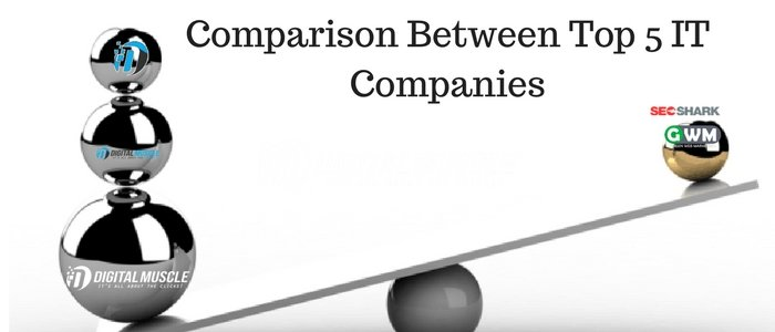 A comparison between top 5 IT companies and why Digital Muscle deserves a mention