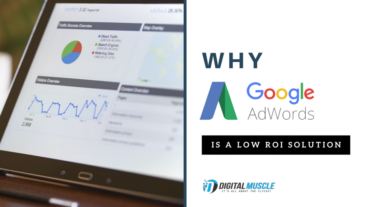 Why Google AdWords is a Low ROI Solution