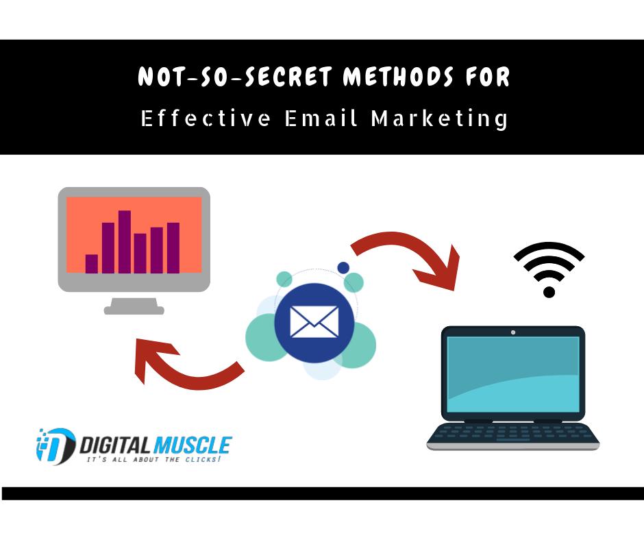 Not-So-Secret Methods for Effective Email Marketing