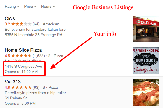 Optimise Your Website For The Local Listing
