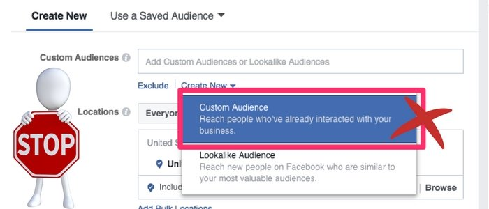 Facebook Estimate Reach is finished
