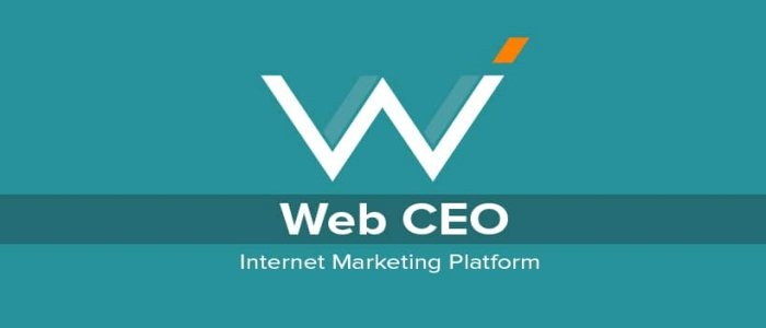 Web CEO tool