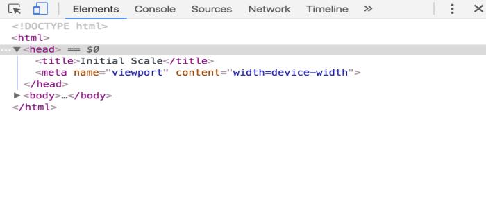 Check Meta Viewport Element